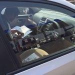 VW Ameo 1.5L DSG interior spied