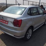 VW Ameo 1.5L DSG rear quarter spied