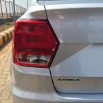 VW Ameo 1.5L DSG taillight spied