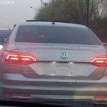 VW Phideon rear spied