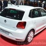 VW Polo Beats rear three quarters at the 2016 Geneva Motor Show