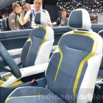 VW T-Cross Breeze concept front seats at the Geneva Motor Show Live