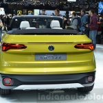 VW T-Cross Breeze concept rear at the Geneva Motor Show Live