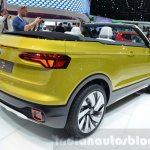 VW T-Cross Breeze concept rear quarter at the Geneva Motor Show Live