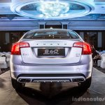 Volvo S60 Cross Country rear launched in India
