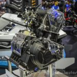 Yamaha R3 MT-03 321 cc engine at 2016 BIMS