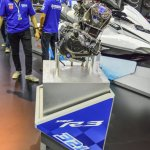 Yamaha R3 MT-03 engine at 2016 BIMS