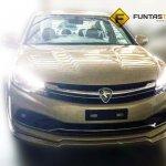2016 Proton Perdana front revealed spyshots