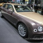 Bentley Mulsanne EWB First Edition front three quarter Auto China 2016