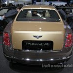 Bentley Mulsanne EWB First Edition rear Auto China 2016