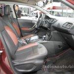 Citroen C3-XR front seats