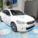 Citroen E-Elysee at Auto China 2016 front three quarters