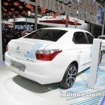 Citroen E-Elysee at Auto China 2016 rear three quarters