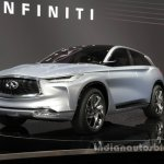 Infiniti QX Sport Concept front three quarter at the Auto China 2016