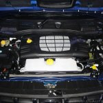 Mahindra Nuvosport engine bay launched