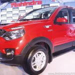 Mahindra Nuvosport front three quarter launched