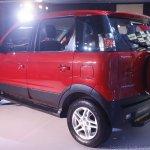 Mahindra Nuvosport rear three quarter launched