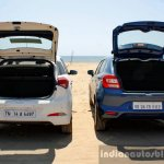 Maruti Baleno vs Hyundai Elite i20 boot volume Comparison Review