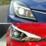 Maruti Baleno vs Hyundai Elite i20 headlamp Comparison Review