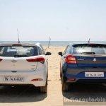 Maruti Baleno vs Hyundai Elite i20 rear Comparison Review