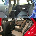 Maruti Baleno vs Hyundai Elite i20 rear seat Comparison Review