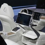 Volvo S90 Excellence lounge console at the Auto China 2016