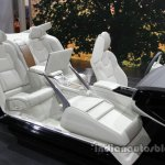 Volvo S90 Excellence rear seat at the Auto China 2016
