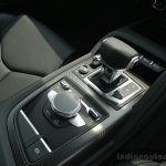 2016 Audi R8 V10 Plus floor console first drive