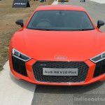 2016 Audi R8 V10 Plus front first drive