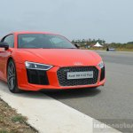 2016 Audi R8 V10 Plus front quarter first drive