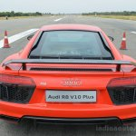 2016 Audi R8 V10 Plus rear first drive