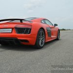 2016 Audi R8 V10 Plus rear quarter low first drive