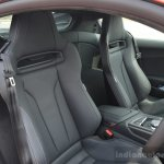 2016 Audi R8 V10 Plus seats first drive