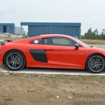 2016 Audi R8 V10 Plus side first drive