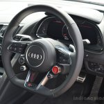 2016 Audi R8 V10 Plus steering wheel first drive