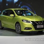 2016 Nissan Tiida at Auto China 2016 front three quarters