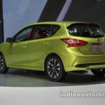 2016 Nissan Tiida at Auto China 2016 rear three quarters left side