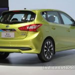 2016 Nissan Tiida at Auto China 2016 rear three quarters