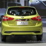 2016 Nissan Tiida at Auto China 2016 rear