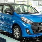 2016 Perodua Myvi 1.5L Advance front three quarter launched