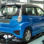 2016 Perodua Myvi 1.5L Advance rear three quarter launched