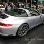 2016 Porsche 911 Targa 4 rear three quarters right at Auto China 2016