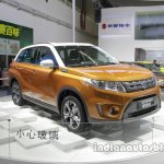 2016 Suzuki Vitara front three quarters at Auto China 2016