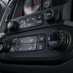 2017 Chevrolet Trailblazer (facelift) HVAC controls unveiled