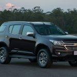 2017 Chevrolet Trailblazer (facelift) front three quarter unveiled