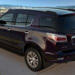 2017 Chevrolet Trailblazer rear quarter top (facelift) unveiled