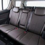 2017 Chevrolet Trailblazer rear seat (facelift) unveiled