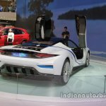 BAIC ARCFOX-7 rear three quarters right side at Auto China 2016