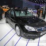 BAIC EH400 front three quarters at Auto China 2016