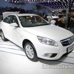 BAIC Senova EU260 front three quarters at Auto China 2016